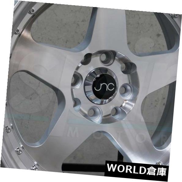 【お気にいる】 海外輸入ホイール JNC010 18x9 set(4) JNC 010 JNC010 5x112 30シルバーマシンフェイスホイールNew New set(4) 18x9 JNC 010 JNC010 5x112 30 Silver Machine Face Wheel New set(4), 田川啓二ビーズ刺繍チリアショップ:ea7c4220 --- mail.durand-il.com