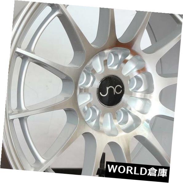 激安正規  海外輸入ホイール 18x9.5 JNC 033 New JNC033 033 5x112 35シルバーマシンフェイスホイールNew set(4) 5x112 18x9.5 JNC 033 JNC033 5x112 35 Silver Machine Face Wheel New set(4), 帽子屋QUEENHEAD:65491c3d --- learningcentre.co