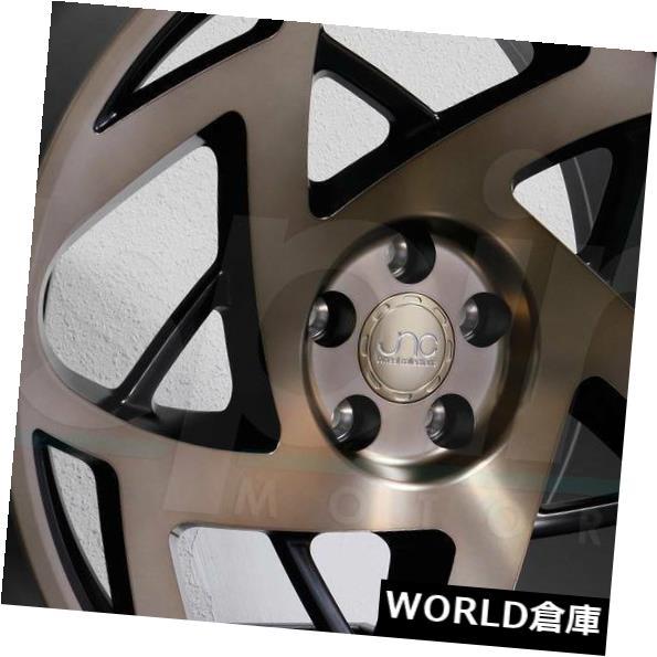 【楽ギフ_のし宛書】 海外輸入ホイール JNC047 18x8.5 Rims JNC 047 JNC047 5x114.3 047 30マットブラックブロンズフェイスホイールリムセット(4) 18x8.5 JNC 047 JNC047 5x114.3 30 Matte Black Bronze Face Wheel Rims set(4), ドレスアップカーパーツ AWESOME:8a2a8154 --- learningcentre.co