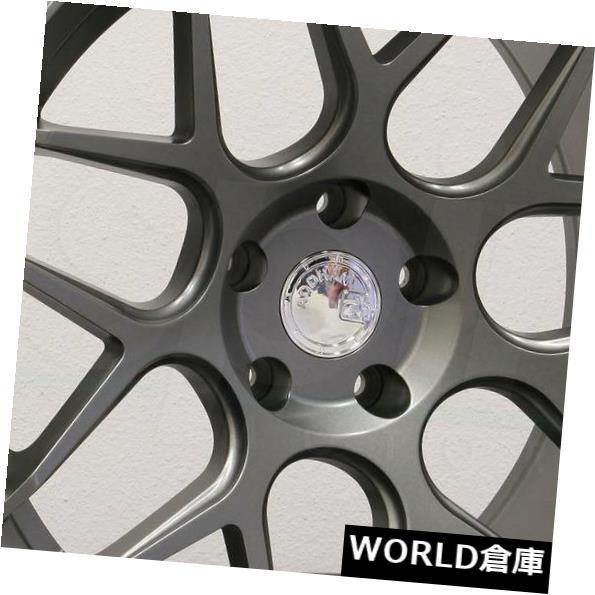 人気が高い  海外輸入ホイール 18x8 / 18x9 Aodhan LS002 LS2 5x114.3 35/30マットガンメタルホイールリムセット(4) 18x8/18x9 Aodhan LS002 LS2 5x114.3 35/30 Matte Gun Metal Wheels Rims Set(4), Ys factory a5e9f79c