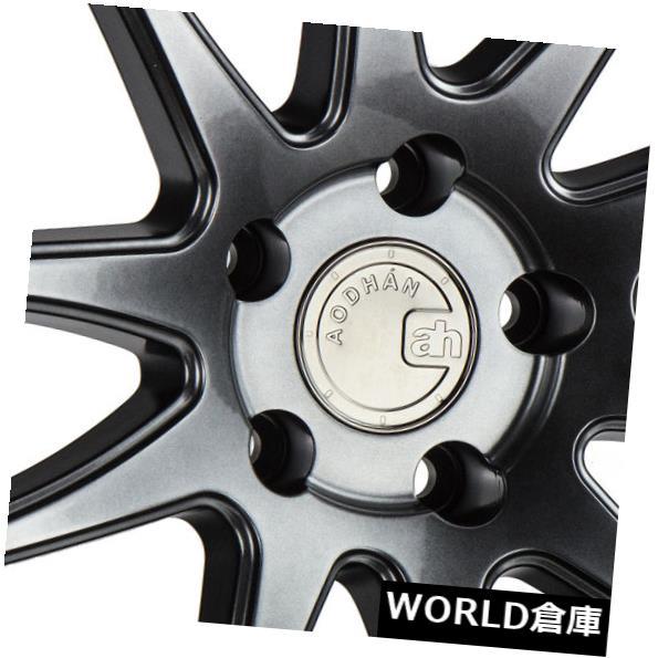 憧れ 海外輸入ホイール 18x9.5 Aodhan DS02 DS2 5x114.3 15ハイパーブラックホイールリムセット(4) 18x9.5 Aodhan DS02 DS2 5x114.3 15 Hyper Black Wheels Rims Set(4), オノエマチ f890e82c