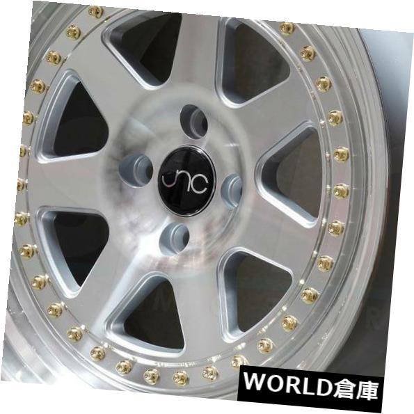 最高の品質の 海外輸入ホイール Face. 17x8/ 30/25 17x9 JNC 048 JNC048 set(4) 5x120 30/25シルバーマシンフェイス。 ホイールリムセット(4) 17x8/17x9 JNC 048 JNC048 5x120 30/25 Silver Machine Face. Wheel Rims set(4), 【本物保証】:92b4c5d8 --- tedlance.com