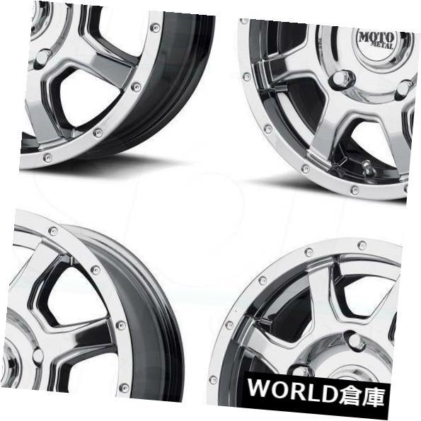 海外輸入ホイール 16x7 Moto Metal MO970 6x130 42 PVDホイールリムセット 4 16x7 Moto Metal MO970 6x130 42 PVD Wheels Rims Set 4