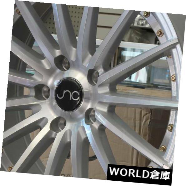 海外輸入ホイール 18x8.5 18x9.5 JNC 042 JNC042 5x112 35 35シルバーマシンフェイス ホイールリムセット 4 18x8.5 18x9.5 JNC 042 JNC042 5x112 35 35 Silver Machine