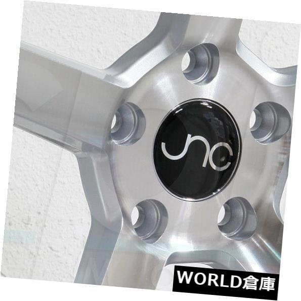 【限定製作】 海外輸入ホイール 18x8/ 18x8/18x9 18x9 JNC 026 JNC026 JNC026 Face 5x112 35/32シルバーマシンフェイスホイールNew set(4) 18x8/18x9 JNC 026 JNC026 5x112 35/32 Silver Machine Face Wheel New set(4), 東温市:8d0429b4 --- tedlance.com