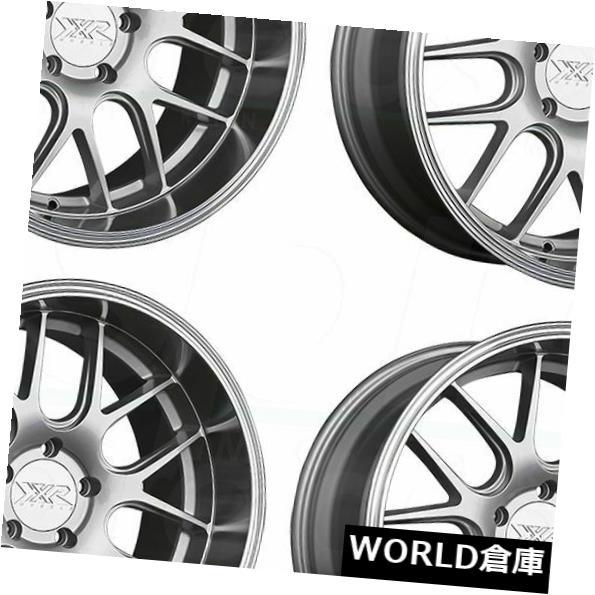 海外輸入ホイール 18x10.5 XXR 530D 5x114.3 20シルバーMLホイールリムセット(4) 18x10.5 XXR 530D 5x114.3 20 Silver ML Wheels Rims Set(4)