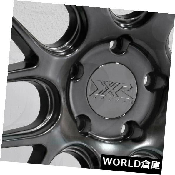 海外輸入ホイール 18x9 XXR 530D 5x114.3 20クロムブラックホイールリムセット(4) 18x9 XXR 530D 5x114.3 20 Chromium Black Wheels Rims Set(4)