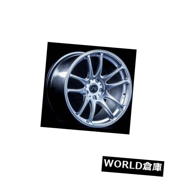 海外輸入ホイール 18x8.5 JNC 030 JNC030 5x100 / 5x114.3 30ハイパーシルバーホイールリムセット(4) 18x8.5 JNC 030 JNC030 5x100/5x114.3 30 Hyper Silver Wheel Rims set(4)