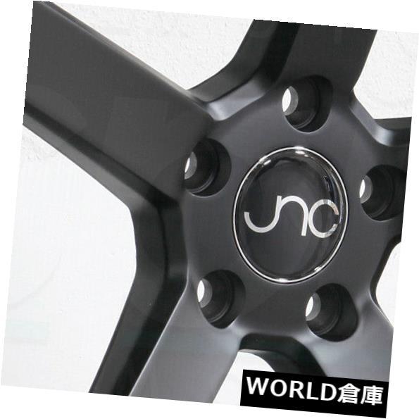 海外輸入ホイール 18x8 JNC 026 JNC026 5x114.3 35マットブラックホイールNew set(4) 18x8 JNC 026 JNC026 5x114.3 35 Matte Black Wheel New set(4)