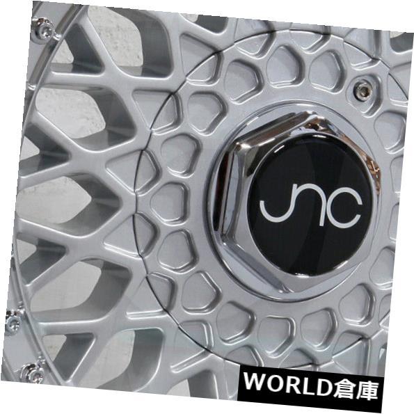 海外輸入ホイール 18x8.5 JNC 004S JNC004S 5x100 / 5x114.3 30シルバーマシンリップ。 ホイールリムセット(4) 18x8.5 JNC 004S JNC004S 5x100/5x114.3 30 Silver Machine Lip. Wheel Rims set(4)