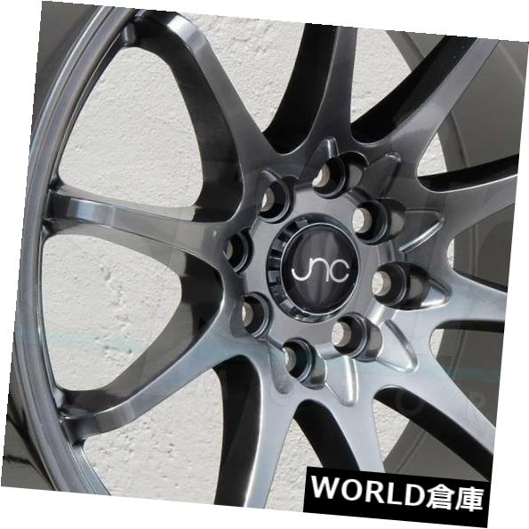 海外輸入ホイール 18x8.5 JNC 006 JNC006 5x120 35 Hyper Black Wheel新しいセット(4) 18x8.5 JNC 006 JNC006 5x120 35 Hyper Black Wheel New set(4)