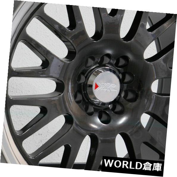 玄関先迄納品 海外輸入ホイール 17x8/ 17x9 17x8 XXR Set(4) 531 5x100/ Black 5x114.3 35/35クロムブラックMLホイールリムセット(4) 17x8/17x9 XXR 531 5x100/5x114.3 35/35 Chromium Black ML Wheels Rims Set(4), ブックセンターいとう日野店:6bcc607e --- tedlance.com