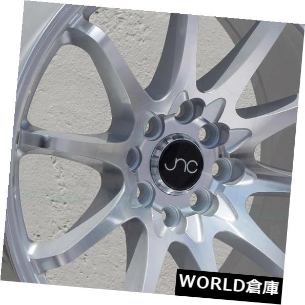 【日本未発売】 海外輸入ホイール 17x9 JNC New 006 4x100 JNC006 4x100 Machine/ 4x114.3 30シルバーマシンフェイスホイールNew set(4) 17x9 JNC 006 JNC006 4x100/4x114.3 30 Silver Machine Face Wheel New set(4), パーツキング:345afa57 --- irecyclecampaign.org