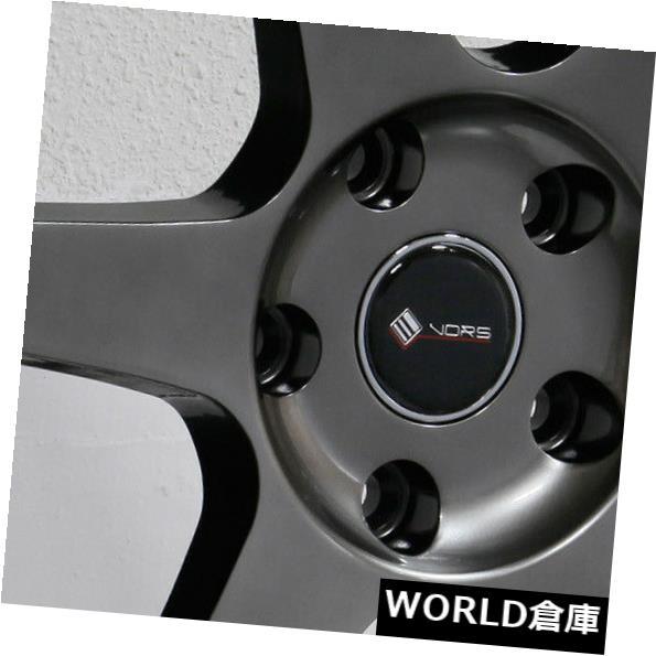 開店祝い 海外輸入ホイール Set(4) 18x8.5 5x115/ 18x9.5 Vors TR37 5x115 35 Vors/35ハイパーブラックホイールリムセット(4) 18x8.5/18x9.5 Vors TR37 5x115 35/35 Hyper Black Wheels Rims Set(4), 中島町:3ce09501 --- growyourleadgen.petramanos.com