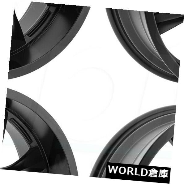 最終決算 海外輸入ホイール 6x135/6x5.5 Wheels -12 20x9パンサーオフロード578 6x135/ 6x5.5 -12フラットブラックホイールリムセット(4) 20x9 Panther Off Road 578 6x135/6x5.5 -12 Flat Black Wheels Rims Set(4), R&K リサイクルキング:16755196 --- verandasvanhout.nl