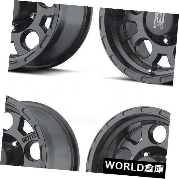 数量は多い  海外輸入ホイール 15x9 XD XD122 Set(4) Enduro 5x5.5/ 5x139.7 XD122 Rims -12マットブラックホイールリムセット(4) 15x9 XD XD122 Enduro 5x5.5/5x139.7 -12 Matte Black Wheels Rims Set(4), ドレスのpiashop:8147799c --- yuk.dog