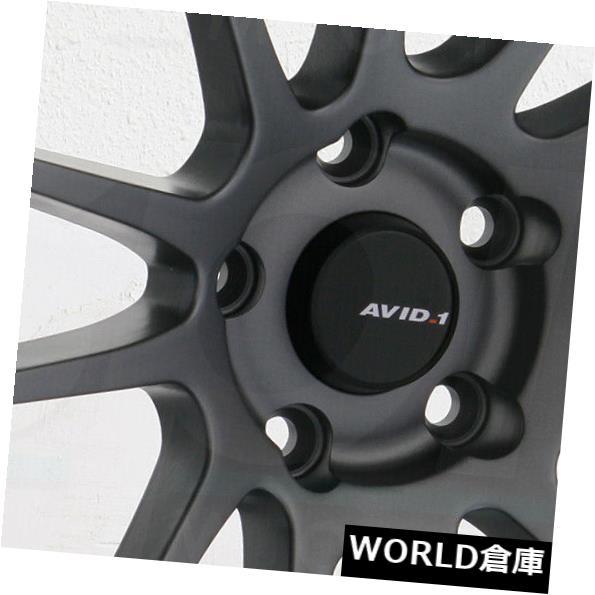 2021新発 海外輸入ホイール Set(4) 18x8.5/ 5x114.3 18x9.5 Metal AVID1 AV20 AV-20 5x114.3 33/38ガンメタルホイールリムセット(4) 18x8.5/18x9.5 AVID1 AV20 AV-20 5x114.3 33/38 Gun Metal Wheels Rims Set(4), lexaniperfomancetires:4ca1b8ba --- tedlance.com