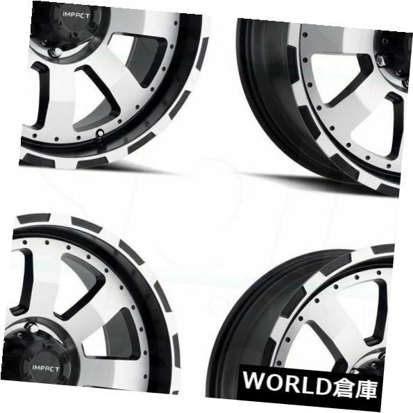 【即日発送】 海外輸入ホイール Set(4) 17x9インパクト505Bデストロイヤー6x135 0ブラックマシンフェイスホイールリムセット(4) 17x9 Impact 505B Destroyer Machine 6x135 0 505B Black Machine Face Wheels Rims Set(4), 手づくりバッグのお店 花やか:3bf322ae --- mail.durand-il.com