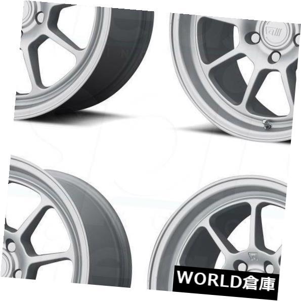 【人気沸騰】 海外輸入ホイール 17x9.5 Wheels Motegi Silver MR135 5x112 25ハイパーシルバーホイールリムセット(4) Rims 17x9.5 Motegi MR135 5x112 25 Hyper Silver Wheels Rims Set(4), 一六本舗:d603c65e --- mail.durand-il.com