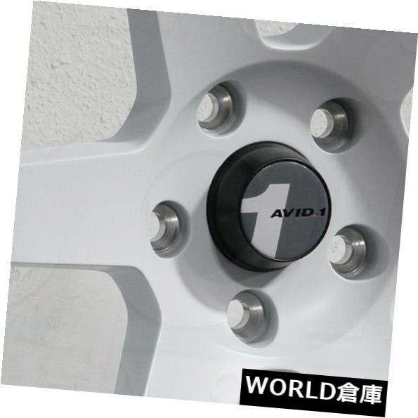 人気TOP 海外輸入ホイール 18x9.5 18x9.5 AVID1 AV06 AV-06 Rims 5x114.3 38マットホワイトホイールリムセット(4) 18x9.5 AVID1 White AV06 AV-06 5x114.3 38 Matte White Wheels Rims Set(4), 合志町:66db4df7 --- estoresa.co.za