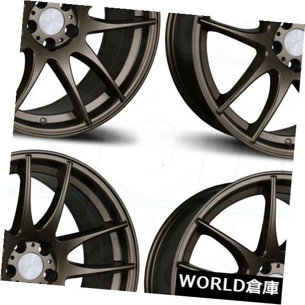 海外輸入ホイール 18x9.5 AVID1 AV32 AV-32 5x114.3 35ブロンズホイールリムセット(4) 18x9.5 AVID1 AV32 AV-32 5x114.3 35 Bronze Wheels Rims Set(4)