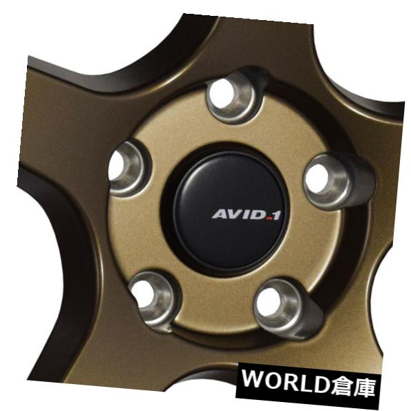 【中古】 海外輸入ホイール 18x8.5 / 18x9.5 AVID1 AV28 5x114.3 35/35ブロンズホイールリムセット(4) 18x8.5/18x9.5 AVID1 AV28 5x114.3 35/35 Bronze Wheels Rims Set(4), 薩摩川内市 1d88ba23