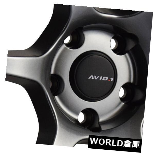 数量限定価格!! 海外輸入ホイール 18x9.5 AVID1 AV26 5x114.3 38ハイパーブラックホイールリムセット(4) 18x9.5 AVID1 AV26 5x114.3 38 Hyper Black Wheels Rims Set(4), e-レスキュー 8010a0a9