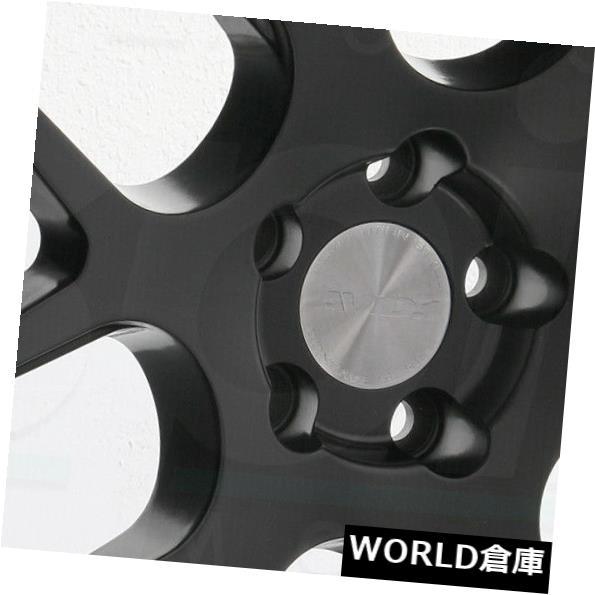 【ギフ_包装】 海外輸入ホイール 18x9.5 AVID1 AV30 AV-30 5x114.3 35ブラックホイールリムセット(4) 18x9.5 AVID1 AV30 AV-30 5x114.3 35 Black Wheels Rims Set(4), カメヤマシ 3b80abd4