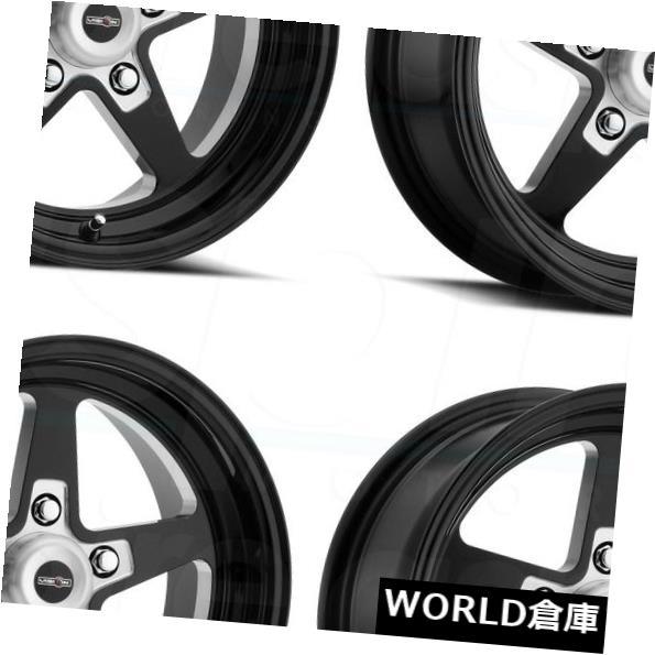 人気大割引 海外輸入ホイール 15x8/ 15x10 Black Vision Wheels 571 Sport Star II/ 5x4.75 0/0ブラックミルドホイールリムセット(4) 15x8/15x10 Vision 571 Sport Star II 5x4.75 0/0 Black Milled Wheels Rims Set(4), 北海道の味覚 産地直送:bc56f699 --- growyourleadgen.petramanos.com