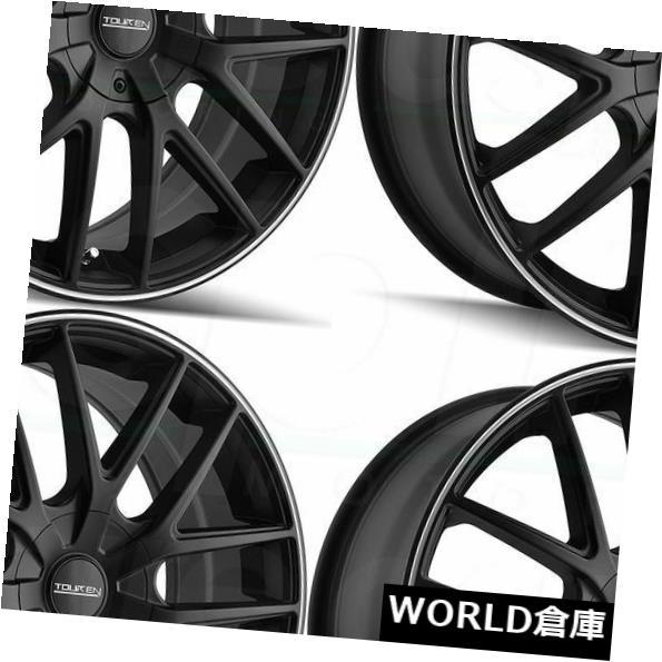 最新発見 海外輸入ホイール 17x7.5 Touren TR60 5x110 Black/ TR60 5x115 42マットブラック機械加工リングホイールリムセット(4) 17x7.5 Ring Touren TR60 5x110/5x115 42 Matte Black Machined Ring Wheels Rims Set(4), 大阪発!酒商 好川酒店:9f1e9841 --- estoresa.co.za