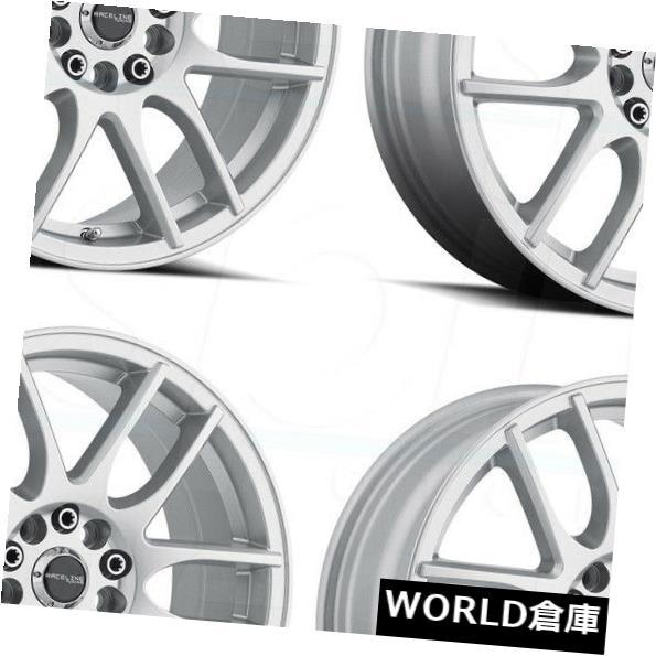 【お気にいる】 海外輸入ホイール 17x7.5 Raceline 141S Mystique Raceline 5x108/ 141S 5x114.3 40シルバーホイールリムセット(4) 17x7.5 17x7.5 Raceline 141S Mystique 5x108/5x114.3 40 Silver Wheels Rims Set(4), 【特別訳あり特価】:fa695fe3 --- mail.durand-il.com