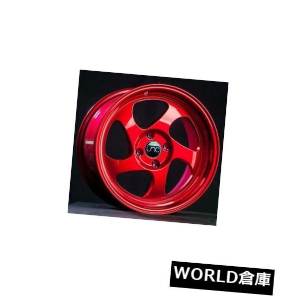 【メーカー直送】 海外輸入ホイール Red 16x9 JNC 034 JNC034 4x100 20キャンディレッドホイールNew 20 set(4) JNC 16x9 JNC 034 JNC034 4x100 20 Candy Red Wheel New set(4), 加須市:9be5502a --- mail.durand-il.com