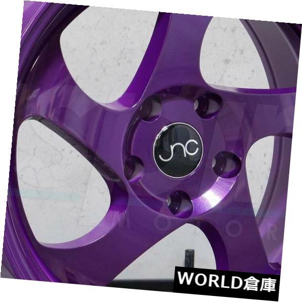 【好評にて期間延長】 海外輸入ホイール 16x9 Rims JNC 034 JNC034 4x100 Wheel 20キャンディパープルホイールリムセット(4) 16x9 JNC 4x100 034 JNC034 4x100 20 Candy Purple Wheel Rims set(4), e-はんこ:2fad98f5 --- mail.durand-il.com