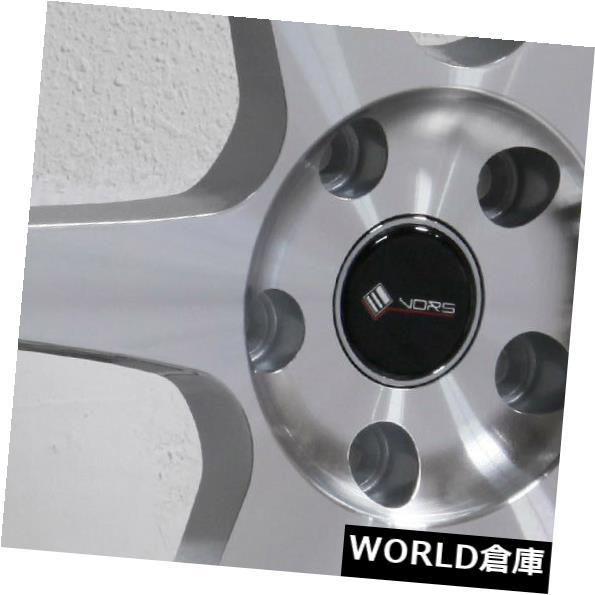 【ついに再販開始!】 海外輸入ホイール 18x8.5 / 18x9.5 Vors TR37 5x114.3 35/35シルバーホイールリムセット(4) 18x8.5/18x9.5 Vors TR37 5x114.3 35/35 Silver Wheels Rims Set(4), PowerHouse cca15abc