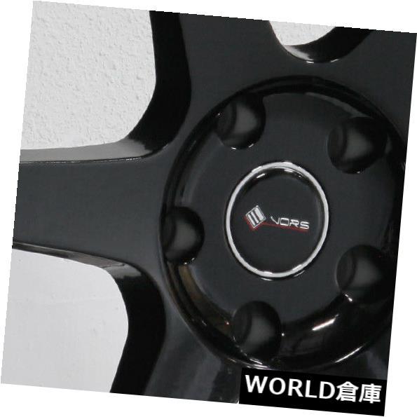 【正規販売店】 海外輸入ホイール 18x9.5 Vors TR37 5x114.3 35ブラックホイールリムセット(4) 18x9.5 Vors TR37 5x114.3 35 Black Wheels Rims Set(4), 陶器屋 まるに本舗 9898f154