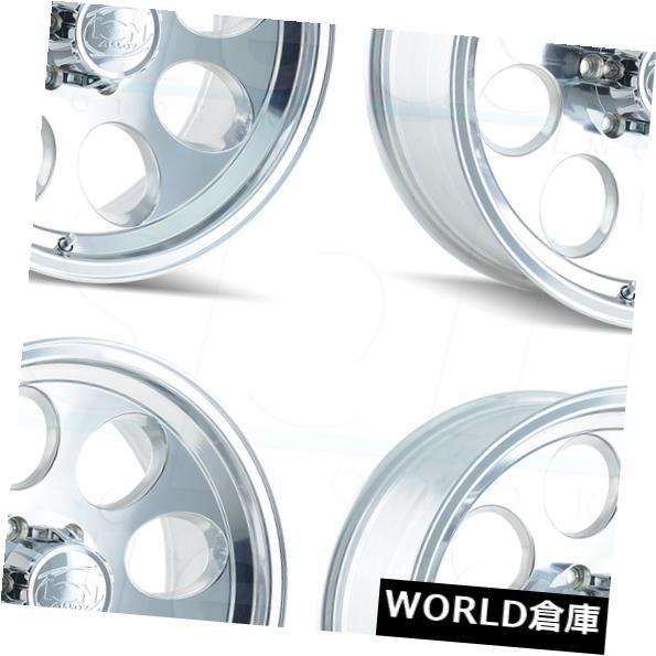 5☆好評 車用品 バイク用品 >> タイヤ ホイール 海外輸入ホイール 16x8イオン171 5x135 お見舞い -5ポリッシュホイールリムセット Wheels Set Rims -5 16x8 Polished 171 4 Ion