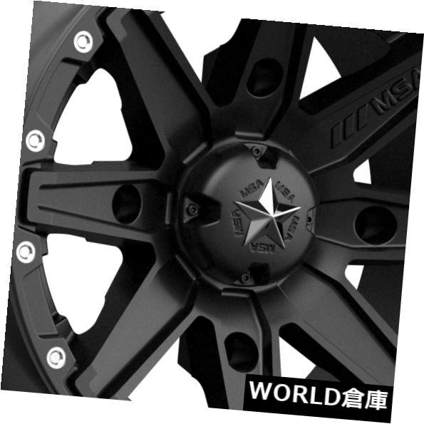 超爆安 海外輸入ホイール Clutch Black 14x7 MSAオフロードM33クラッチ4x110 14x7 -47サテンブラックホイールリムセット(4) 14x7 MSA Off-Road M33 Clutch 4x110 -47 Satin Black Wheels Rims Set(4), 神崎町:4e9e1525 --- sitemaps.auto-ak-47.pl