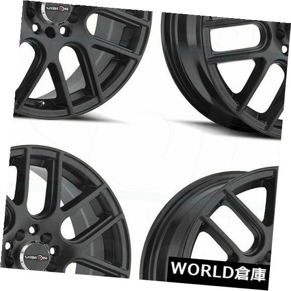 大人気の 海外輸入ホイール Rims 16x7 Wheels Vision Cross 426 Cross 5x112/ 5x114.3 48マットブラックホイールリムセット(4) 16x7 Vision 426 Cross 5x112/5x114.3 48 Matte Black Wheels Rims Set(4), 文政五年創業九谷焼窯元 鏑木商舗:126a147d --- yuk.dog