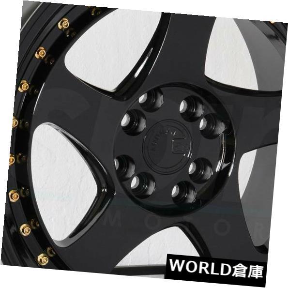 新着商品 海外輸入ホイール 16x8 Aodhan AH01 15 AH1 16x8 4x100/ 4x114.3 Aodhan 15ブラックホイールリムセット(4) 16x8 Aodhan AH01 AH1 4x100/4x114.3 15 Black Wheels Rims Set(4), ライフサポート よっしー:7579cf3e --- mail.durand-il.com