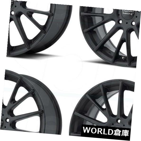 車用品 バイク用品 >> タイヤ ホイール 海外輸入ホイール 16x7 American Racing AR904 5x112 40サテンブラックホイールリムセット Set Black ついに再販開始 4 Satin 送料無料限定セール中 40 Wheels Rims