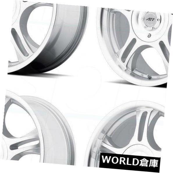 車用品 バイク用品 5%OFF >> タイヤ ホイール 海外輸入ホイール 15x7 American Racing AR95 [正規販売店] 5x108 Set 5x114.3 Machine Estrella 4 5x4.5 35 35マシンホイールセット Wheels