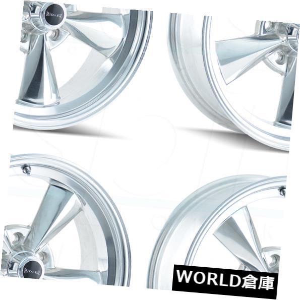 車用品 バイク用品 >> タイヤ ホイール 海外輸入ホイール 15x8 Ridler 675 5x4.75 Rims -12 5x120.6 Polished Wheels 出群 4 -12ポリッシュドホイールリムセット 5 Set 5x120.65 チープ