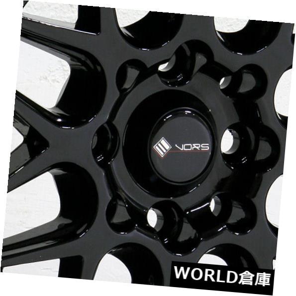 超人気高品質 海外輸入ホイール 15x9 Vors VR7 4x100 Black/ Set(4) 4x114.3 0ブラックホイールリムセット(4) 15x9 15x9 Vors VR7 4x100/4x114.3 0 Black Wheels Rims Set(4), ペーパーランド:a9af0a2e --- ragnarok-spacevikings.pl