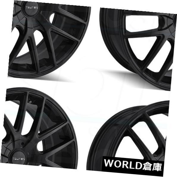 車用品 バイク用品 1年保証 >> タイヤ ホイール 海外輸入ホイール 16x7 Touren TR60 5x100 42フルマットブラックホイールリムセット Matte Full 5x114.3 Black Rims 超定番 4 Set Wheels 42