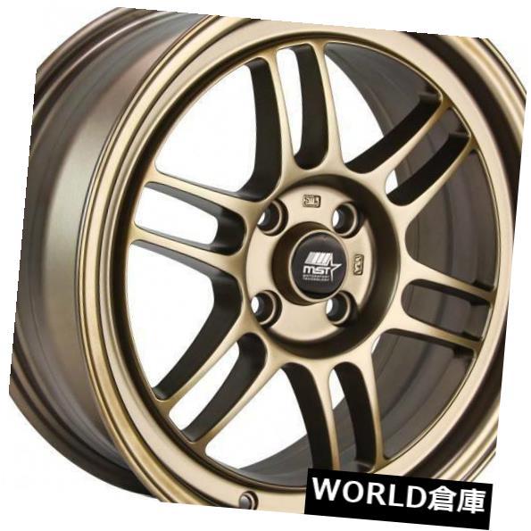 【史上最も激安】 海外輸入ホイール 16x7 4x100/4x114.3 MST鈴鹿4x100 Rims/ 4x114.3 25マットブロンズホイールリムセット(4) 16x7 MST 25 Suzuka 4x100/4x114.3 25 Matte Bronze Wheels Rims Set(4), 佐賀関町:ff86ce7a --- mail.durand-il.com