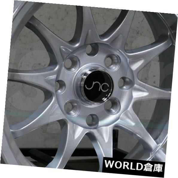 お得セット 海外輸入ホイール 15x9 JNC Wheel 003 JNC003 set(4) 4x100 JNC/ 4x114.3 0シルバーマシンリップホイールNew set(4) 15x9 JNC 003 JNC003 4x100/4x114.3 0 Silver Machine Lip Wheel New set(4), ジュエリーボックスのピィアース:7591eec5 --- yuk.dog