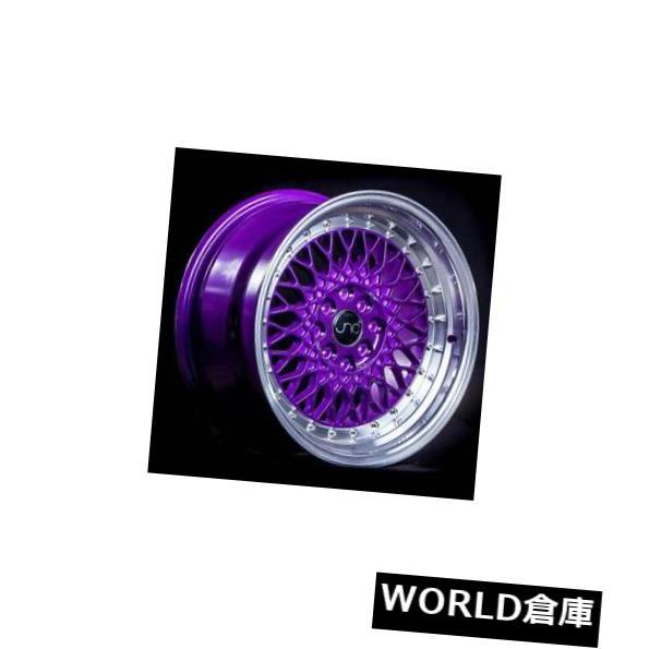 【激安アウトレット!】 海外輸入ホイール 15x8 JNC 031 JNC031 4x100 Purple/ Candy 4x114.3 20キャンディパープルマシンリップホイールリムセット(4) Wheel 15x8 JNC 031 JNC031 4x100/4x114.3 20 Candy Purple Machine Lip Wheel Rims set(4), 名入れダイニング【彫和家】:5114cc29 --- yuk.dog