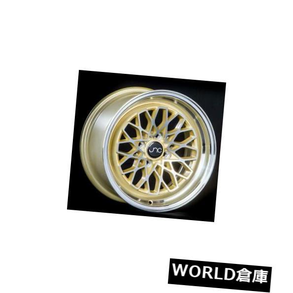 【格安saleスタート】 海外輸入ホイール 15x8 Gold JNC 040 New JNC040 4x100 25 Gold Machine 040 Wheel New set(4) 15x8 JNC 040 JNC040 4x100 25 Gold Machine Wheel New set(4), キリュウシ:87594f68 --- learningcentre.co