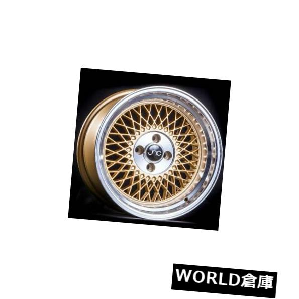 【返品不可】 海外輸入ホイール set(4) 15x8 JNC 031 JNC031 New Wheel 4x100 20 Gold Machine Lip Wheel新しいセット(4) 15x8 JNC 031 JNC031 4x100 20 Gold Machine Lip Wheel New set(4), 名古屋貸衣装:287c3ea6 --- lms.imergex.tech