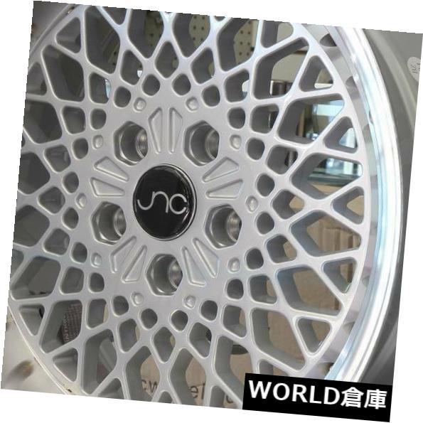 【500円引きクーポン】 海外輸入ホイール 15x8.25 Silver JNC 045 Lip. JNC045 4x100 10シルバーマシンリップ。 JNC045 ホイールニューセット(4) 15x8.25 JNC 045 JNC045 4x100 10 Silver Machine Lip. Wheel New set(4), MandA:d4d3570b --- 14mmk.com